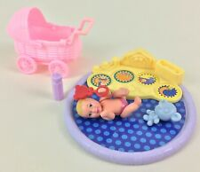 Doll Barbie Baby Happy Family Lot Mattel Activity Center Toy Set Girl 2002