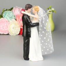 Bride and Groom Couple Figurine Wedding Celebration Decoration Cake Topper
