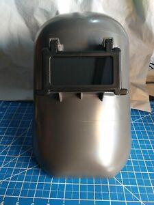 HONEYWELL FIBRE-METAL 906GY Welding Helmet,Shade 10,Gray
