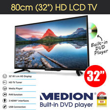 "MEDION 81cm (32"") HD LED LCD TV w/ Built-in DVD Player 16:9 HDMI USB PVR VGA"