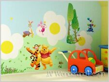Giant Winnie The Pooh Wall Sticker ART DECO KIDS BABY DECAL STICKERS PAPER 1 DIY