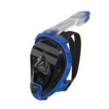 Ocean Reef Aria QR+ w/Camera Holder Full Face Snorkeling Mask Anti-fog Blue L/XL