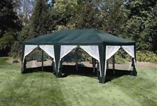 Deluxe Green 12' x 20' Screen House | Camping Food Tent Event Sun Shelter Gazebo