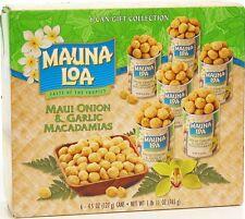 MAUI ONION GARLIC MAUNA LOA MACADAMIA NUTS GIFT SET
