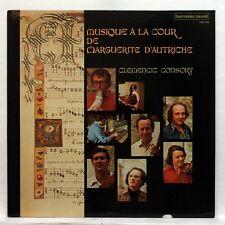 CLEMENCIC musique a la cour de marguerite d'autriche HARMONIA MUNDI LP EX++