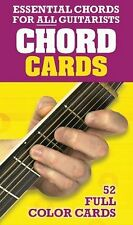 ESSENTIAL CHORDS FOR ALL GUITARISTS-CHORD CARDS-52 FULL COLOR CHORDS-NEW ON SALE