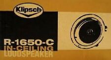 Klipsch R-1650-C In-Ceiling Speakers (SINGLE) r1650c, r-1650c
