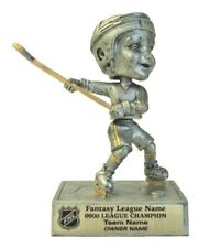 Fantasy Hockey Last Place Bobble Head Trophy Award Color Logo P*59441Gs