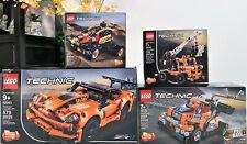 LEGO TECHNIC BUNDLE 4 sets CORVETTE ZR1 Sport Car BUGGY RACE TRUCK 42093 SHNXDAY
