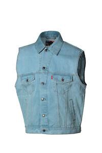 Jeansweste Joey blau, Biker, Görtrud, 1a-Qualität, Gr. M, neu - Räumungsverkauf
