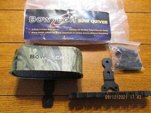 Bowtech Bow Quiver carbon aluminum 2 piece 8 arrow capacity