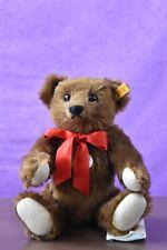 Steiff 000638 Chestnut Brown 1909 Replica Teddy Bear Growler Tagged
