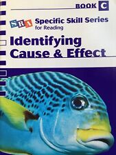 SRA Specific Skill Series Book C Identifying Cause & Effect 9780076040773 New