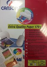 Canson Extra Quality Fotopapier MATT 170g/m² DIN-A4 50 Blatt Fotos Inkjet Papier