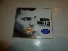 RICKY MARTIN featuring AMERIE & FAT JOE - I Don't Care - 2005 UK 2-track 2-CD