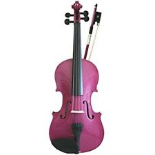 PRIMAVERA RAINBOW VIOLIN - PINK - FULL SIZE - NEW - COMES WITH BOW AND CASE £105