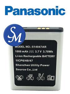Batteria Panasonic 514047AR a litio 1000mAh bulk  x Panasonic KX-TUTU446/456/466