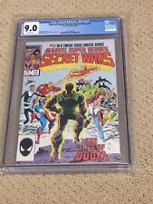 Marvel Super Heroes Secret Wars 11 CGC 9.0 White Pages (Classic Cover!!)
