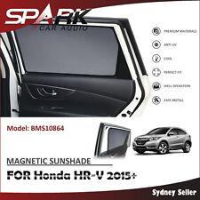 CT MAGNETIC CAR WINDOW SUN SHADE BLIND MESH REAR DOOR FOR Honda HR-V HRV 2015+