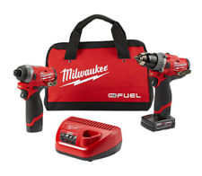 NEW Milwaukee M12 Hammer Drill and Impact Driver - 2598-22