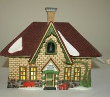 Department 56 New England Village Collection Apple Valley School House