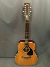 Yamaha 12 String Acoustic Guitar Vntge Red Label Model FG-230 Nippon Gakki Japan