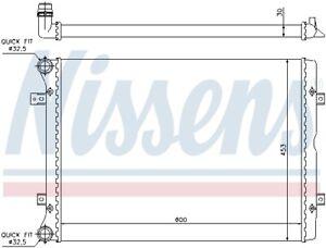 Motorkühler Wasserkühler NISSENS 65014 für SHARAN ALHAMBRA SEAT GALAXY 7M9 FORD