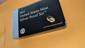 2011 United States Mint SILVER Proof Set - w/OGP & CoA q7