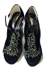 Max Studios Heels With Beads Size 8