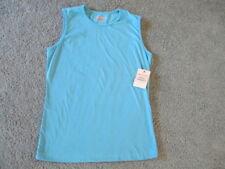 SALE! JANE ASHLEY Size Small Cotton Blue Tank Top, NWT