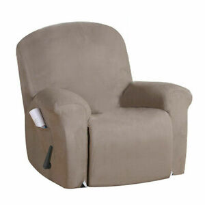 Stretch Recliner Chair Covers 1 Seater Armchair Sofa Chair Cover Slipcover Set