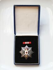 YUGOSLAVIA Order of Military Merit with Silver Sword early 5-torch w box ORDEN