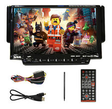 "SSL SD712B In Dash Single DIN 7"" Car Monitor DVD/CD Player W/Bluetooth/USB/Aux"