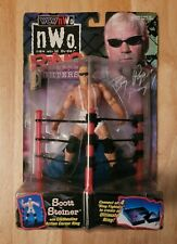 WCW/NWO Ring Fighters Scott Steiner Big Poppa Pump Figure MOC