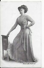 RARE  MOVIE STAR,POSTCARD,ACTRESS,MISS CLARE HUNTLEY