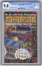 Michaelangelo, Teenage Mutant Ninja Turtle #1 CGC 9.8 HI GRADE Mirage Wraparound