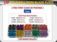 120pcs toyota car vehicle small blade fuses box *5 10 15 20 25 30 amp*  (fits: toyota etios liva)