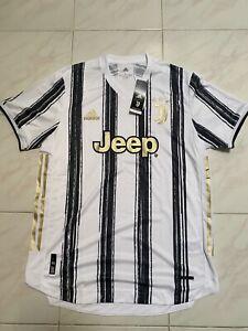 adidas Men's Juventus 20/21 Home Authentic HEAT.RDY Jersey Mens Sz L GJ7601