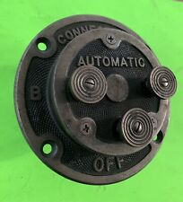 antique scientific industrial electrical switch gauge magneto collectible tool