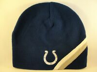 Indianapolis Colts NFL Fleece Beanie Hat Blue