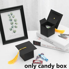 Doctor Hat Cap Candy Box Graduation Celebration Party Gift Favor Boxes~