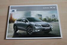 101632) Subaru XV Prospekt 02/2012