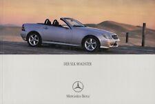 MERCEDES SLK ROADSTER R170 200 230 320 Youngtimer Prospekt Brochure 2000 70