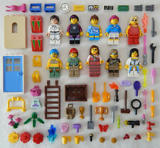 10 NEW LEGO FEMALE MINIFIG LOT girl friends women ladies figures minifigures