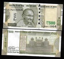 "Rs.500/- Urjit Patel  Star Note ""E"" Inset  Prefix 2LM  2016 - UNC  LATEST"