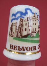 Vintage thimble Belvoir Castle, Fenton china company