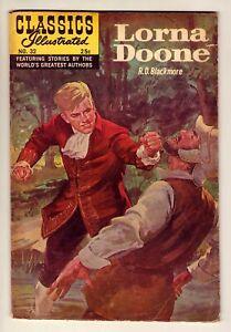 Classics Illustrated #32 - Lorna Doone - Matt Baker art 1968 New cover VG+ (4.5)