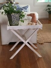 Beautiful Table/Butlers Tray - Recycled Timber