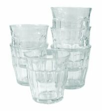 Duralex 22cl Picardie Tumbler Drinking Glasses Pack of 6