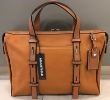 NEW Tumi Tan Mission Harrison Leather Brief Carry-on Travel Luggage Bag #68917